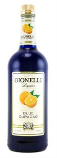Gionelli Liqueur Blue Curacao 1.00l - Case of 12